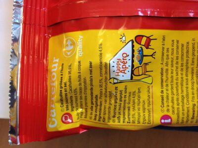 Cacahuètes grillées - Ingrédients - fr