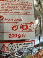 Cacahuètes grillées - Instruction de recyclage et/ou informations d'emballage - fr