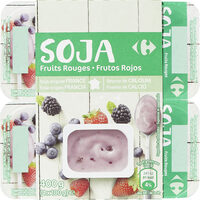 Sojafruits rouges - Producto