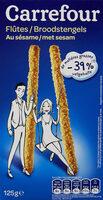 Flûtes au sésame - Produit - fr