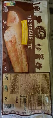 Demi-baguettes précuites - Product - fr