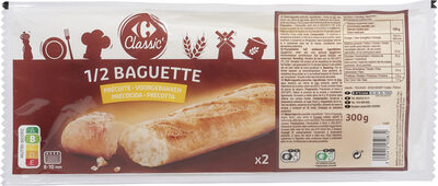 1/2 baguette précuite - Prodotto - fr
