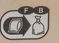 1/2 baguette précuite - Istruzioni per il riciclaggio e/o informazioni sull'imballaggio - fr