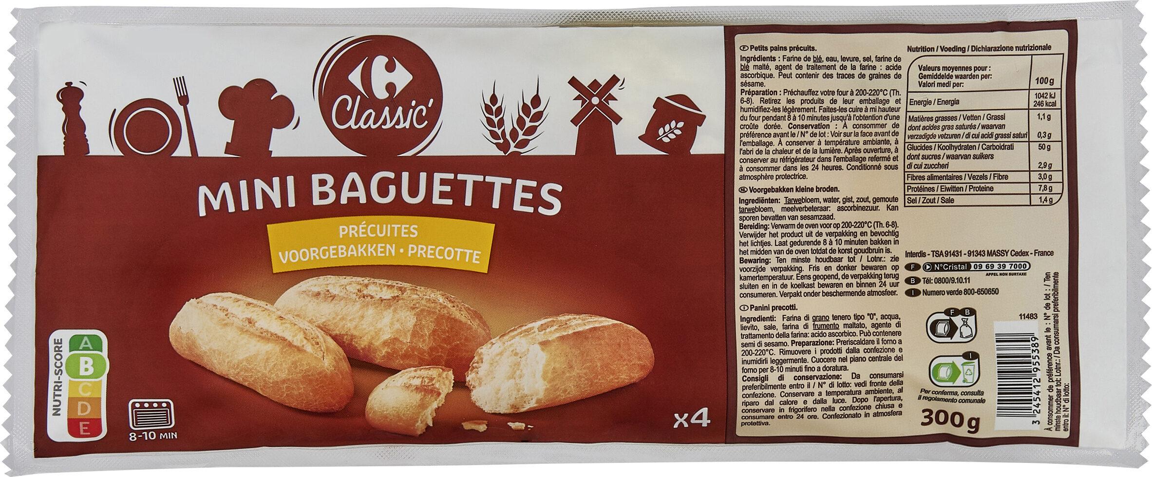 Mini baguette - Product - fr