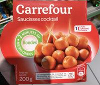 Saucisses Cocktail rondes - Produit - fr