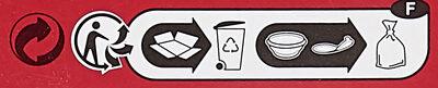 Saucisses Cocktail rondes - Istruzioni per il riciclaggio e/o informazioni sull'imballaggio