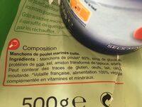 Grignottes de poulet Roties - Ingrediënten - fr
