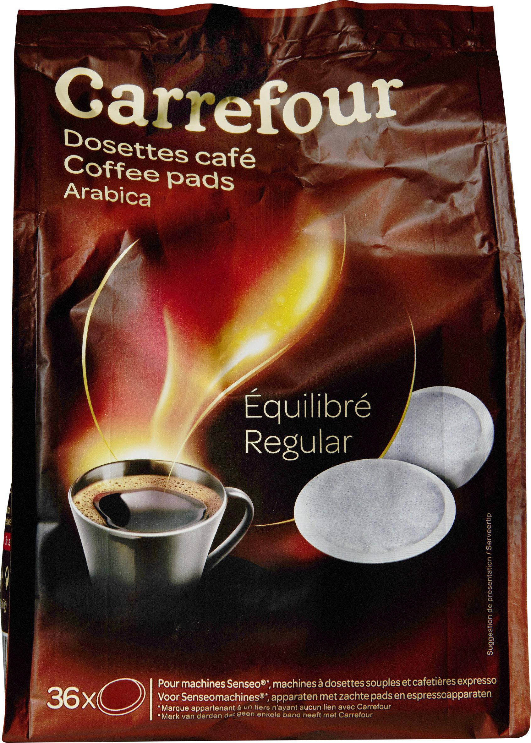 Equilibré De Café Carrefour 252 36 Dosettes G xdCoeB