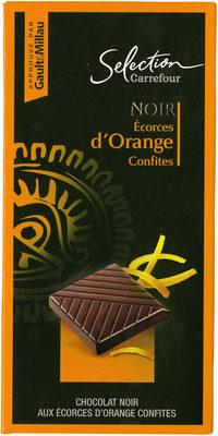 Chocolate negropiel de naranjaconfitada - Producte - es