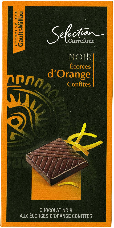 Chocolate negropiel de naranjaconfitada - Producto