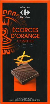 Chocolate negropiel de naranjaconfitada - Produit