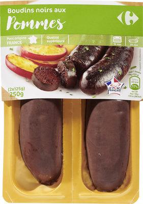 Boudins noirs aux  pommes - Produit - fr