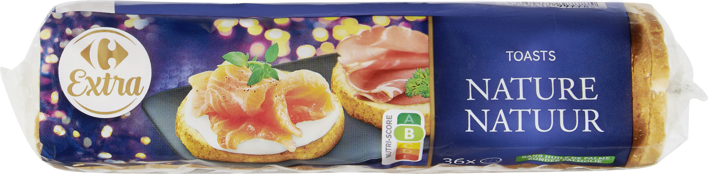 Toasts Nature - Product - fr