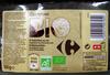 8 galettes de riz nappées de chocolat noir Bio Carrefour - Product