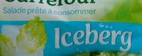 Salade prête à consommer Iceberg - Ingrédients