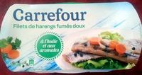 Filets de harengs fumés doux - Product - fr