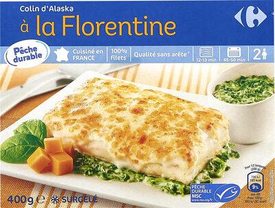 Colin d'Alaska à la Florentine, Surgelé - Product - fr