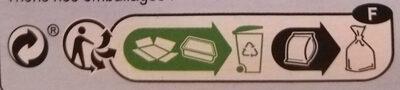 Colin d'Alaska à la Bordelaise, Surgelé - Instruction de recyclage et/ou informations d'emballage - fr