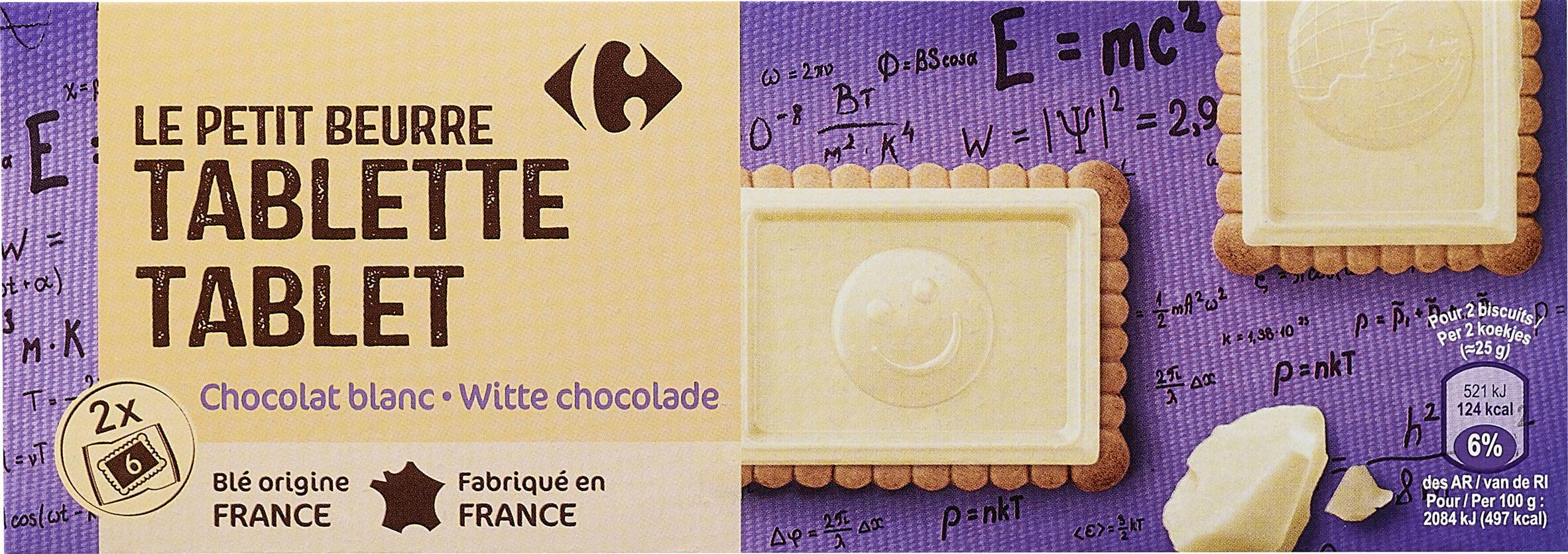 Le Petit Beurre Tablette - Chocolat Blanc - Product - fr