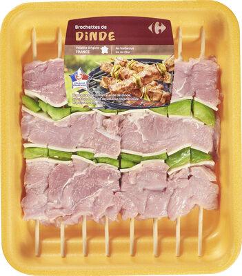 Brochettes de dinde - Produit - fr