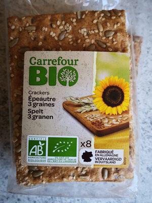 Crackers épeautre 3 graines - Producto - es