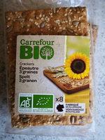 Crackers épeautre 3 graines - Producto