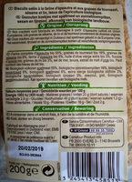 Crackers épeautre 3 graines - Ingredientes