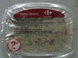 Taboulé oriental - Product - fr