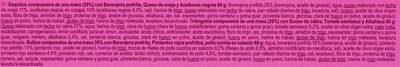 12 Mini croustillants - Ingredientes - es