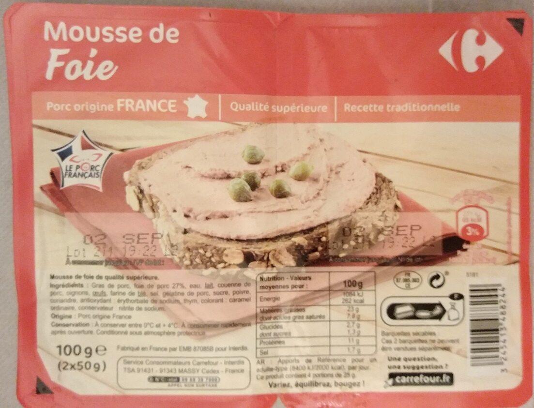 Mousse de foie - Produit - fr