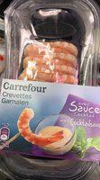 Crevettes avec sauce Cocktail - Product - fr