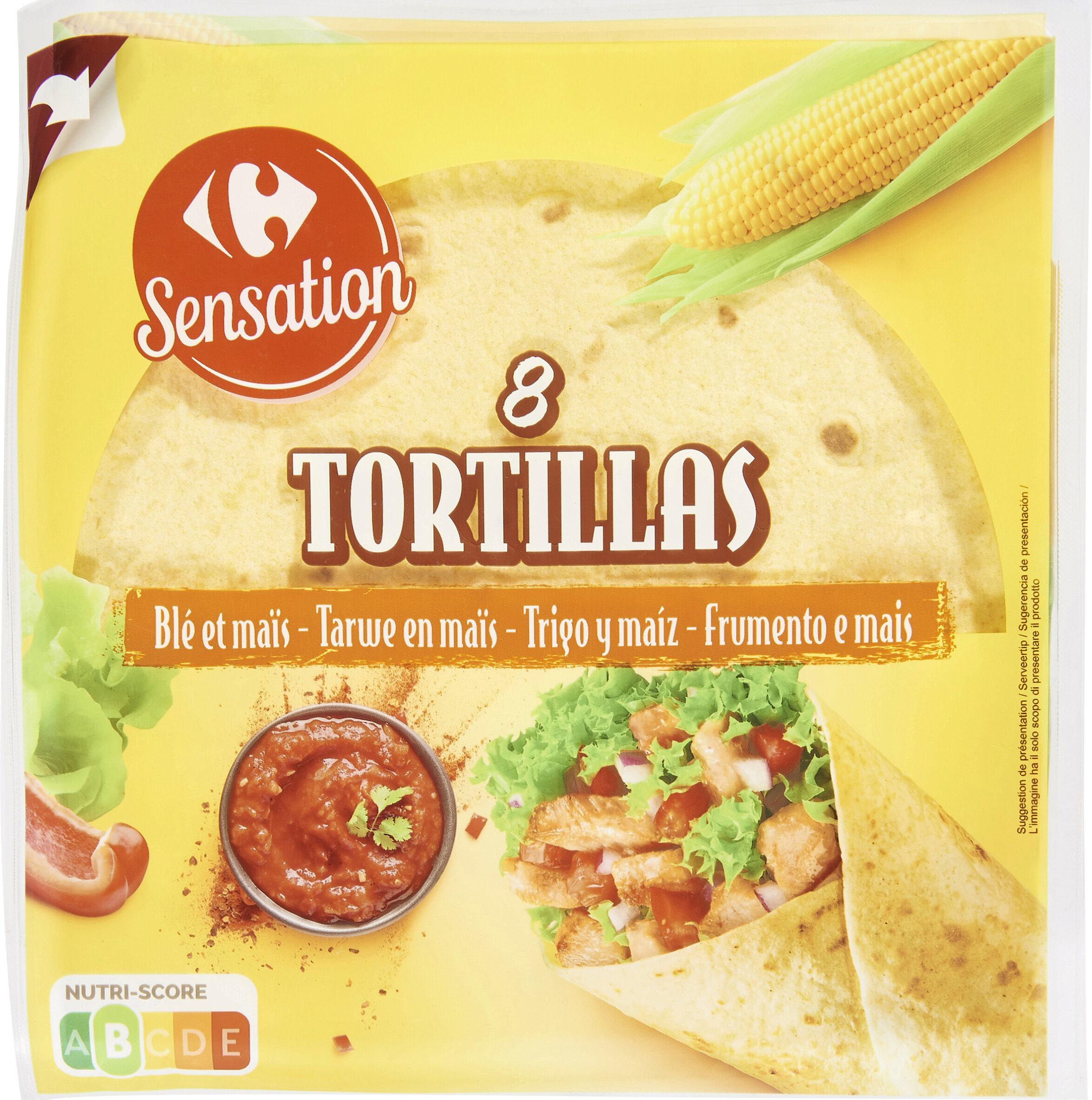 8 tortillas - Product - fr