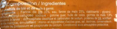 Tortillas blé et mais - Ingrédients - fr
