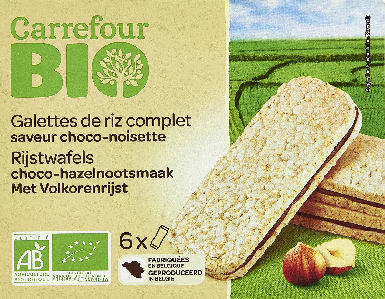 Galettes de riz complet goût choco-noisettes - Product - fr