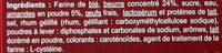 Galette des rois à la frangipane - Ingrediënten - fr