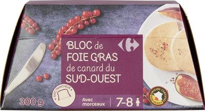 Bloc de foie gras de canard du sud -ouest - Product - fr