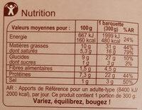 Saucisse et sa purée, sauce aux 2 moutardes - Nutrition facts - fr