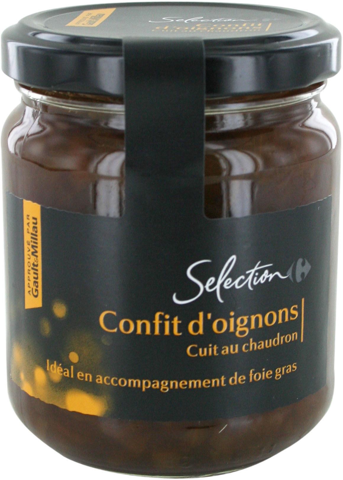 Confit d'oignons cuit au chaudron - Produit - fr