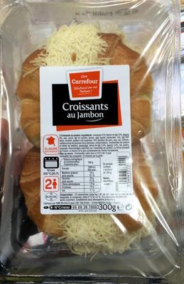 Croissants au jambon - Produit - fr