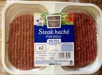 Steak haché pur boeuf 5% MG - Produit - fr