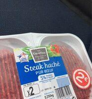 Steak haché (x 2), Pur Bœuf (5 % MG) - Product