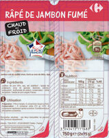 Râpé de Jambon fumé - Produit - fr