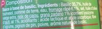 Pesto vert - Ingrédients - fr