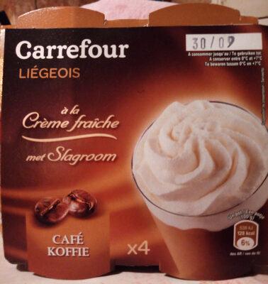 liégeois à la crème fraîche - Product