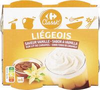 Liégeois saveur vanille - Prodotto - fr