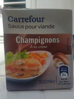 Sauce champignons a la creme fraiche - Produit - fr