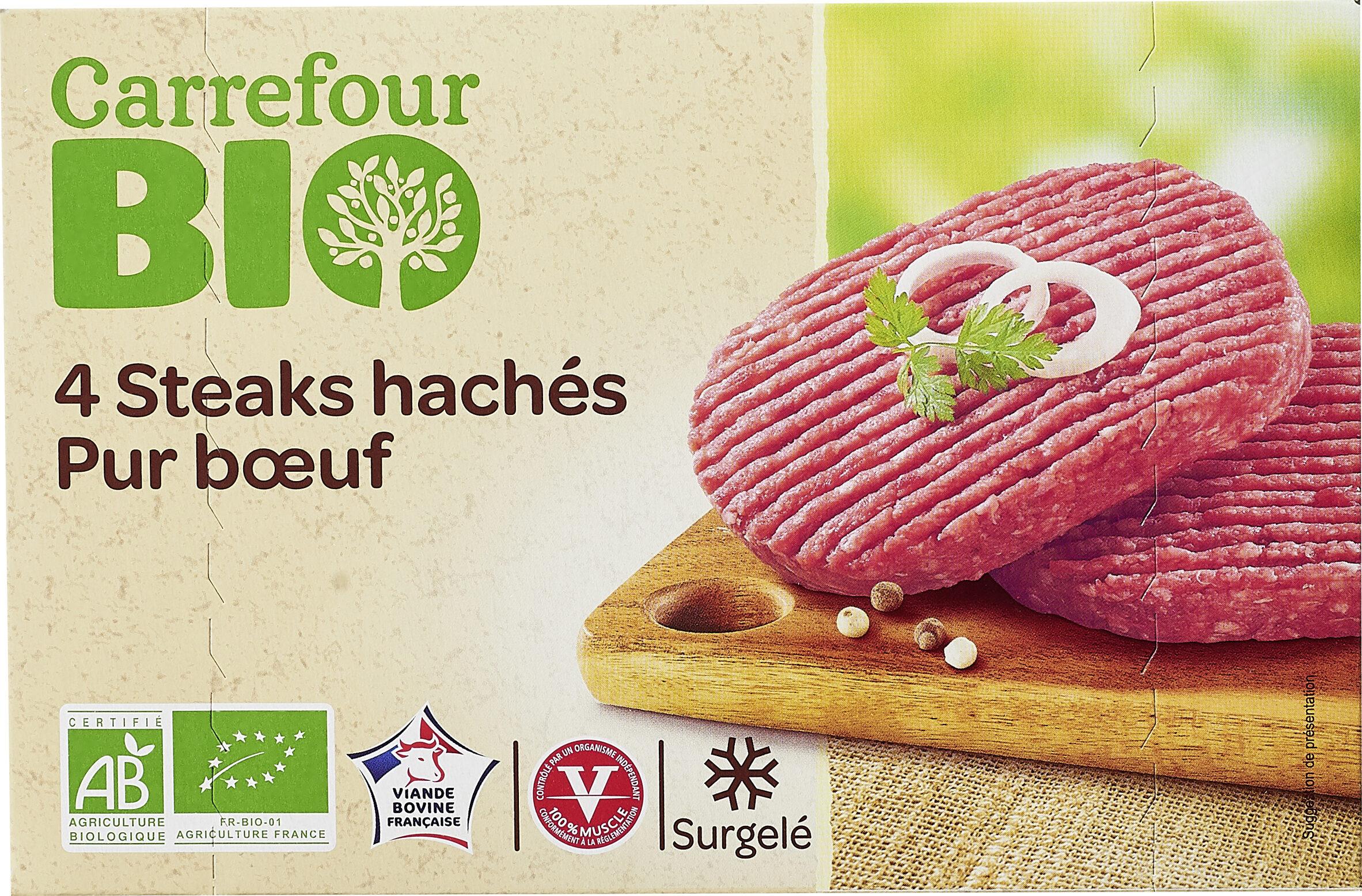 Steaks hachés Bio - Prodotto - fr