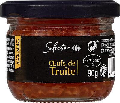 Œufs de truite - Produit - fr