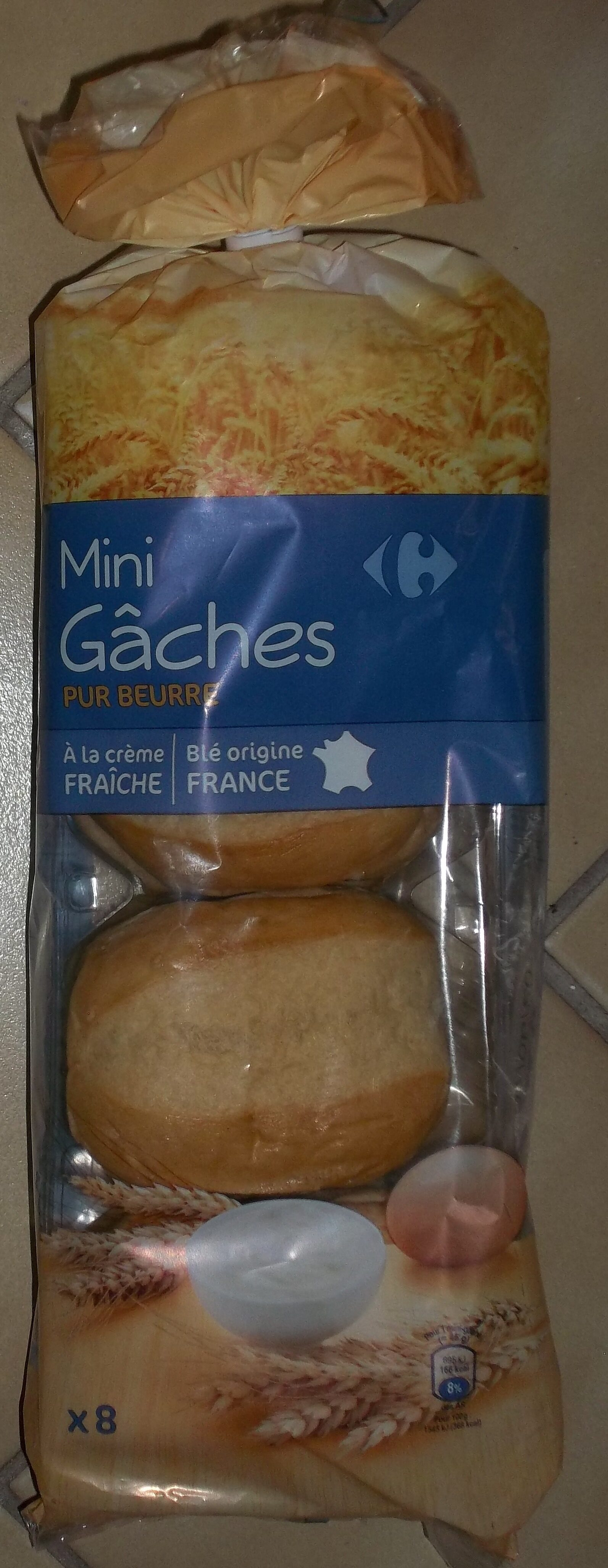 Mini Gâches pur beurre - Produit - fr
