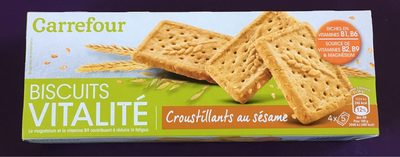 Biscuit croustillants sésame - Product
